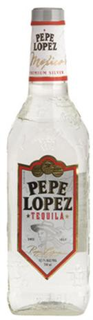 Pepe Lopez Tequila Silver 80@